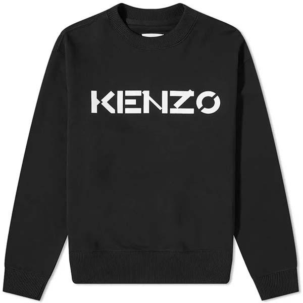 KENZO(ケンゾー)バイカラー ロゴ クルーネック トレーナー ハイブランド インポート ブランド トップス 大きいサイズあり プレゼント