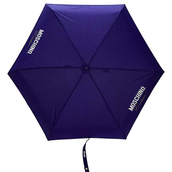 京都のセレクトショップdivacloset 高級品 モスキーノ Moschino ロゴ 傘 折りたたみ傘 商品 持ち運び便利 umbrella 40代 20代 ファッション インポート ブランド ハイブランド 30代