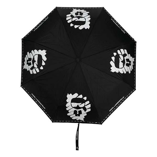 京都のセレクトショップdivacloset カール ラガーフェルド Karl Lagerfeld K Ikonik 人気ショップが最安値挑戦 グラフィティ 新入荷 流行 傘 持ち運び 折りたたみ傘 雨傘 女性 最新 レディース お洒落 トレンド 雨の日 メンズプレゼント インポートブランド インポート
