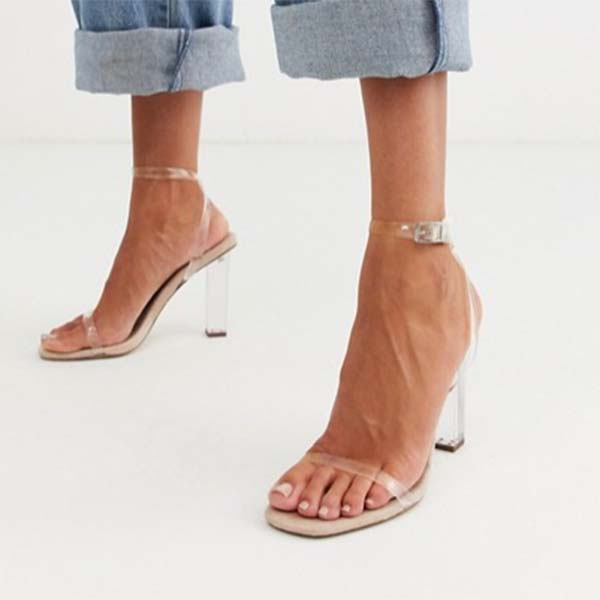 ASOS DESIGN ハルク ヒール サンダル ブロック ファッション 大人可愛い フェス 20代 30代 40代 diva 大きいサイズあり 小さいサイズあり 高身長