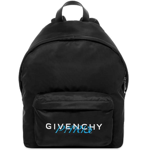 GIVENCHY(ジバンシィ)メタリック ロゴ バックパック ハイブランド インポート ブランド