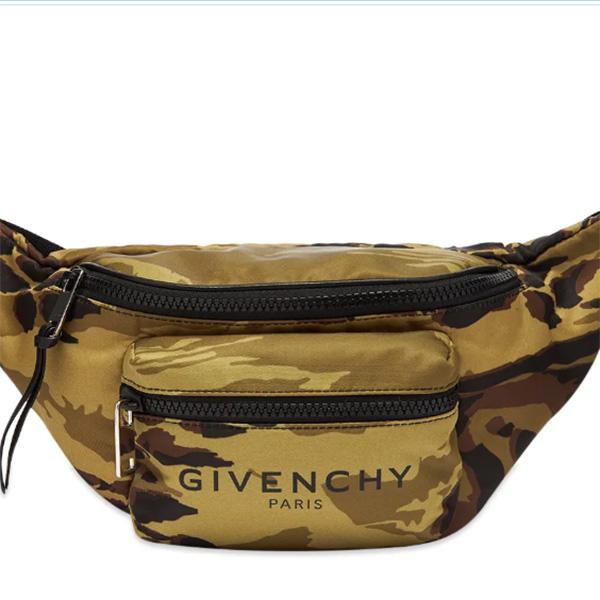 GIVENCHY(ジバンシィ)カモ プリント バムバッグ ハイブランド インポート ブランド