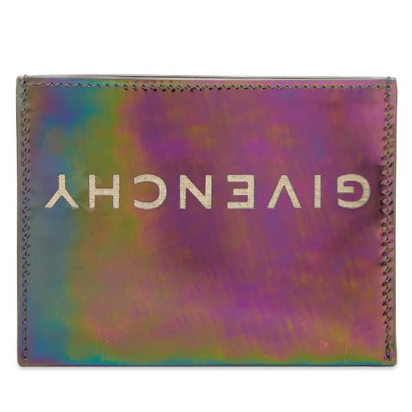 GIVENCHY(ジバンシー)IRIDESCENT LOGO カードホルダー ハイブランド インポート ブランド