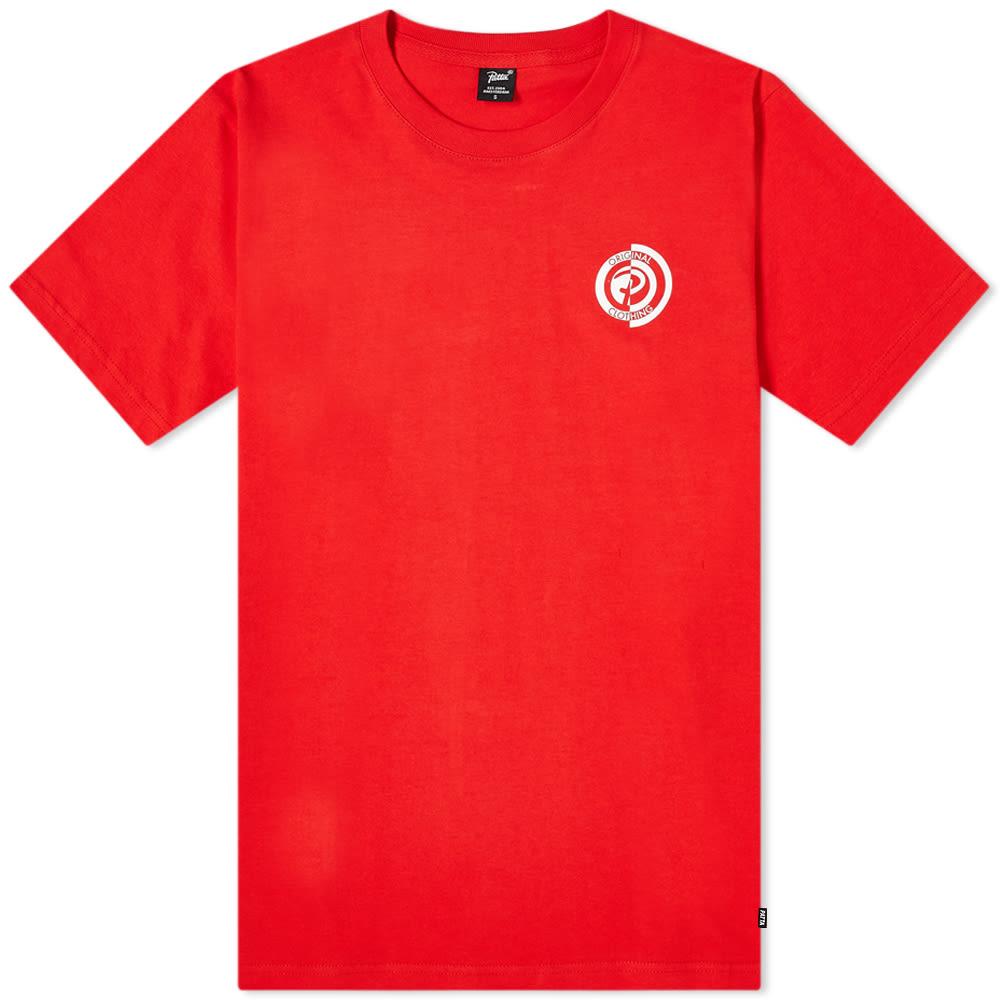 インポートブランド 男性 トップス Patta パッタオリジナル服Tシャツ パタ メンズ 小さいサイズから大きいサイズまで