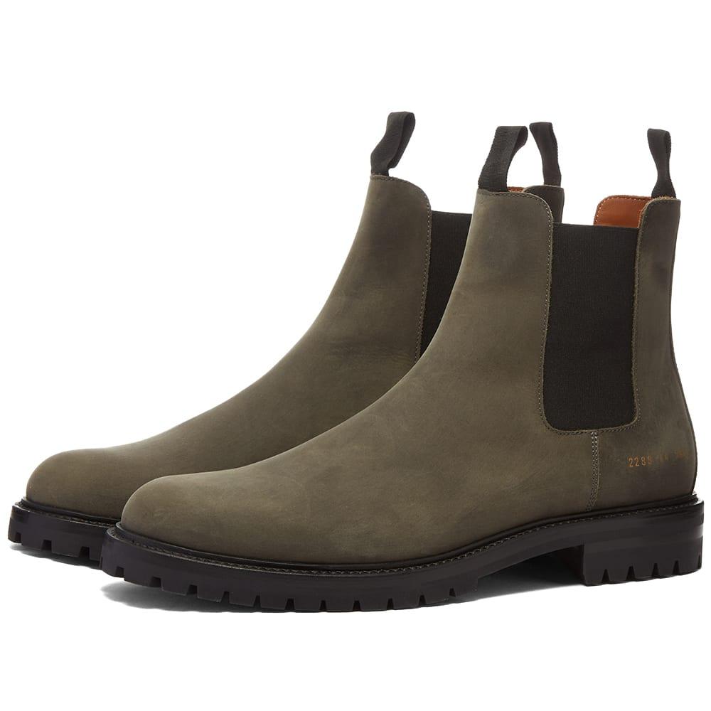 京都のセレクトショップdivacloset インポートブランド コモン プロジェクト COMMON PROJECTS メンズ 一般的なプロジェクト冬のチェルシーブーツ 日本限定 注文後の変更キャンセル返品 小さいサイズから大きいサイズまで 男性 靴