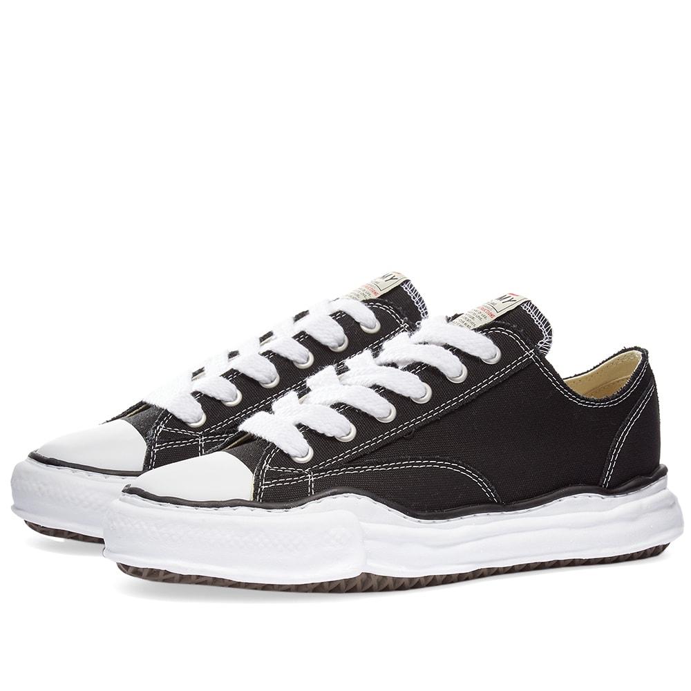 京都のセレクトショップdivacloset インポートブランド Maison MIHARA YASUHIRO 保障 メゾン ミハラヤスヒロ メゾンミハラヤスヒロオリジナルソールキャンバスロースニーカー 靴 男性 小さいサイズから大きいサイズまで メンズ 人気商品