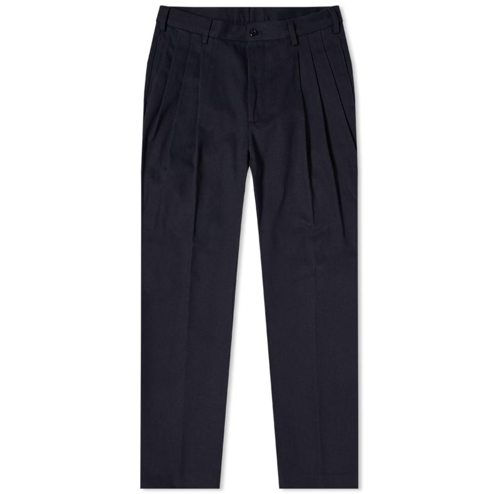 まとめ買い特価 京都のセレクトショップdivacloset インポートブランド 4SDESIGNS 4SDESIGNSトリプルプリーツパンツ パンツ メンズ ボトム 男性 小さいサイズから大きいサイズまで 割り引き