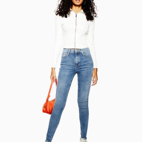 限定タイムセール 京都のセレクトショップdivacloset ミッドウォッシュブルーのトップショップトールジェイミージーンズ パンツ ボトム 女性 インポートブランド 小さいサイズから大きいサイズまで レディース 売り込み