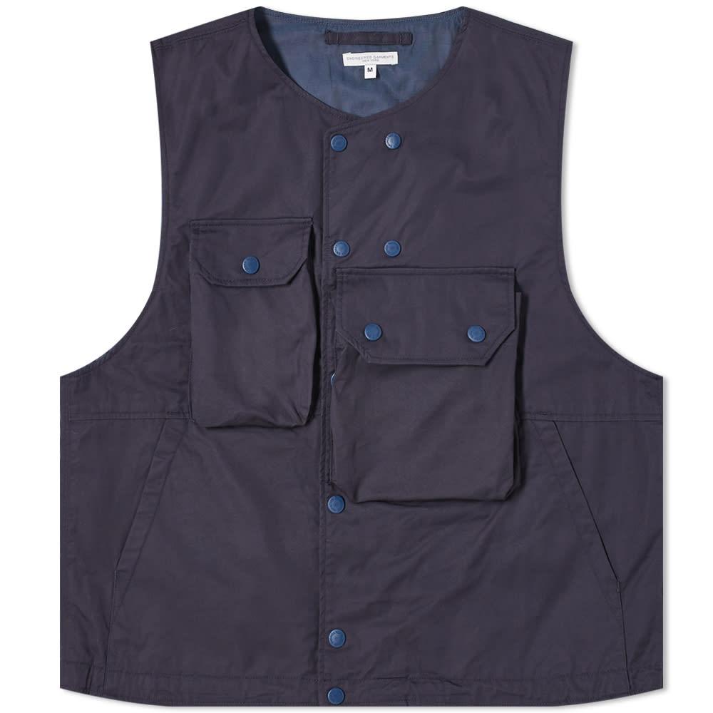 京都のセレクトショップdivacloset インポートブランド エンジニアド ガーメンツ Engineered Garments 限定モデル 小さいサイズから大きいサイズまで 未使用 エンジニアードガーメントツイルカバーベスト 男性 メンズ トップス