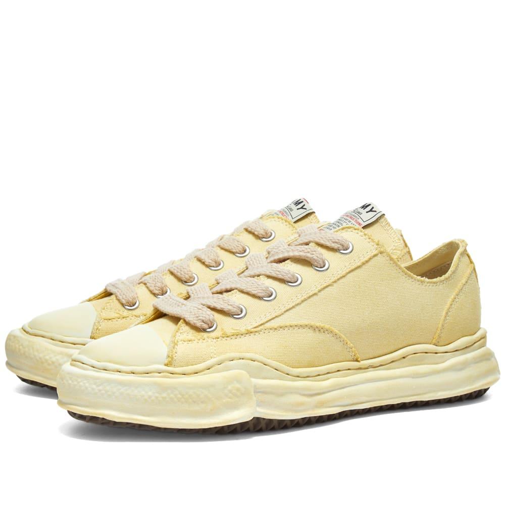 ブランド品 京都のセレクトショップdivacloset インポートブランド Maison MIHARA YASUHIRO メゾン 注文後の変更キャンセル返品 男性 メゾンミハラヤスヒロピーターソンローオリジナルソール染めスニーカー メンズ ミハラヤスヒロ 小さいサイズから大きいサイズまで 靴