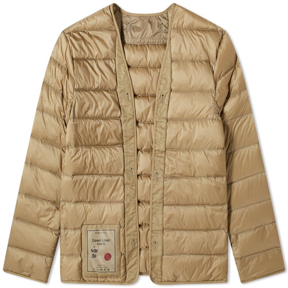 京都のセレクトショップdivacloset インポートブランド テンシー TEN-C セットアップ テンCダウンライナー 男性 アウター メンズ 超人気 小さいサイズから大きいサイズまで