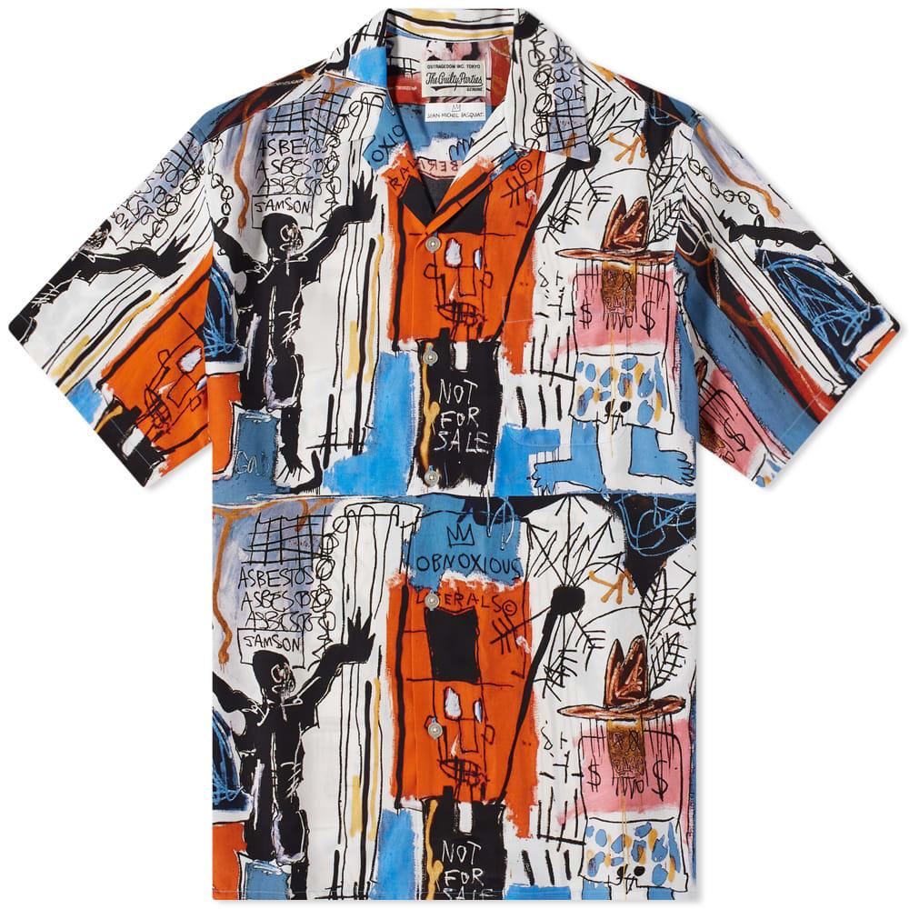 ワコマリア Wacko Maria ワコマリアジャン=ミシェルバスキアタイプ3アロハシャツ トップス メンズ 男性 インポートブランド 小さいサイズから大きいサイズまで
