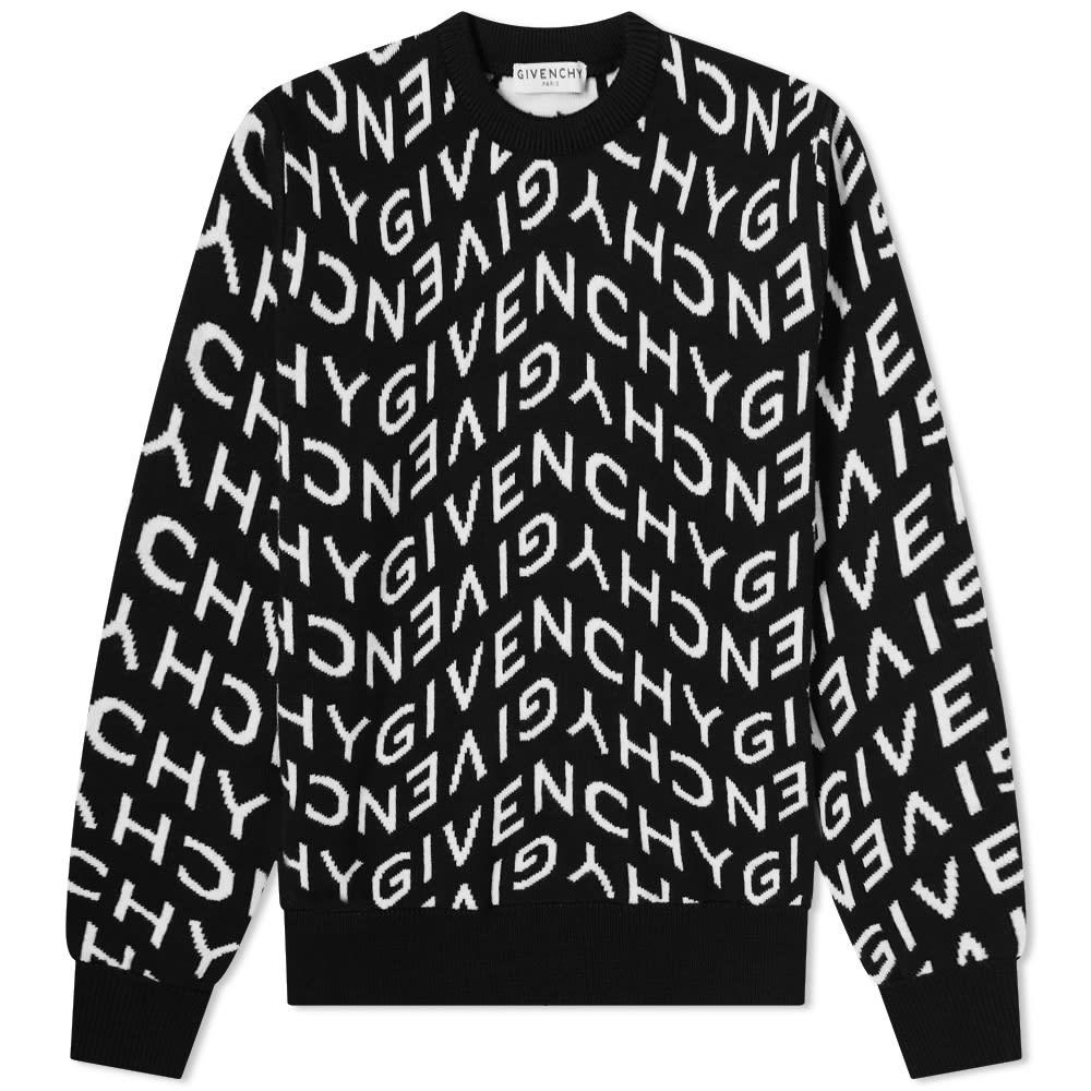 【初売り】 ジバンシィ GIVENCHY ジバンシィー Givenchy ジバンシィ屈折ロゴジャカードクルーニット トップス メンズ 男性 インポートブランド 小さいサイズから大きいサイズまで, ロカクーストア。 LOKAKUU STORE 8ca4a1ac