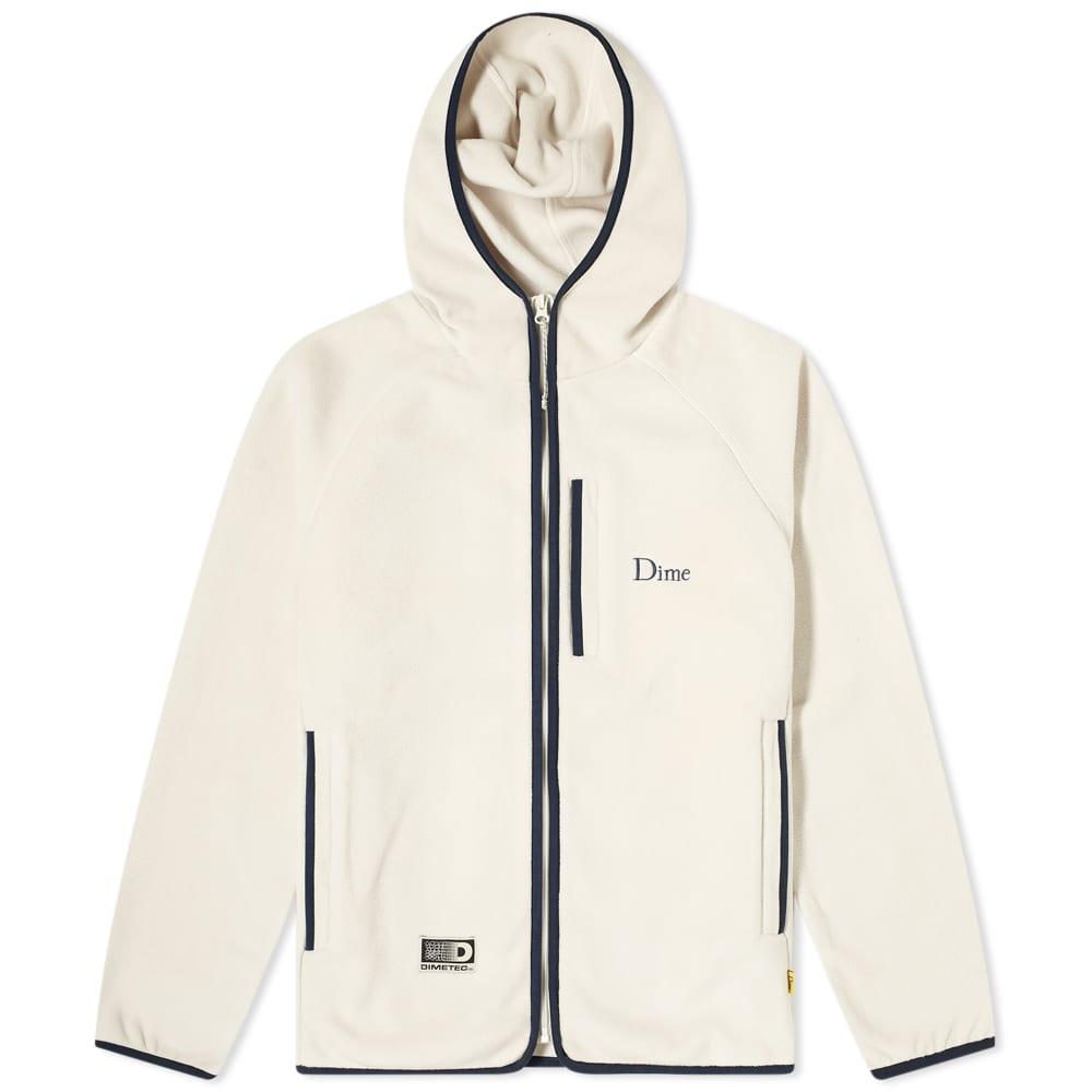 アウター 男性 Dime ダイムポーラーフリースフード付きジャケット 小さいサイズから大きいサイズまで メンズ インポートブランド ダイム