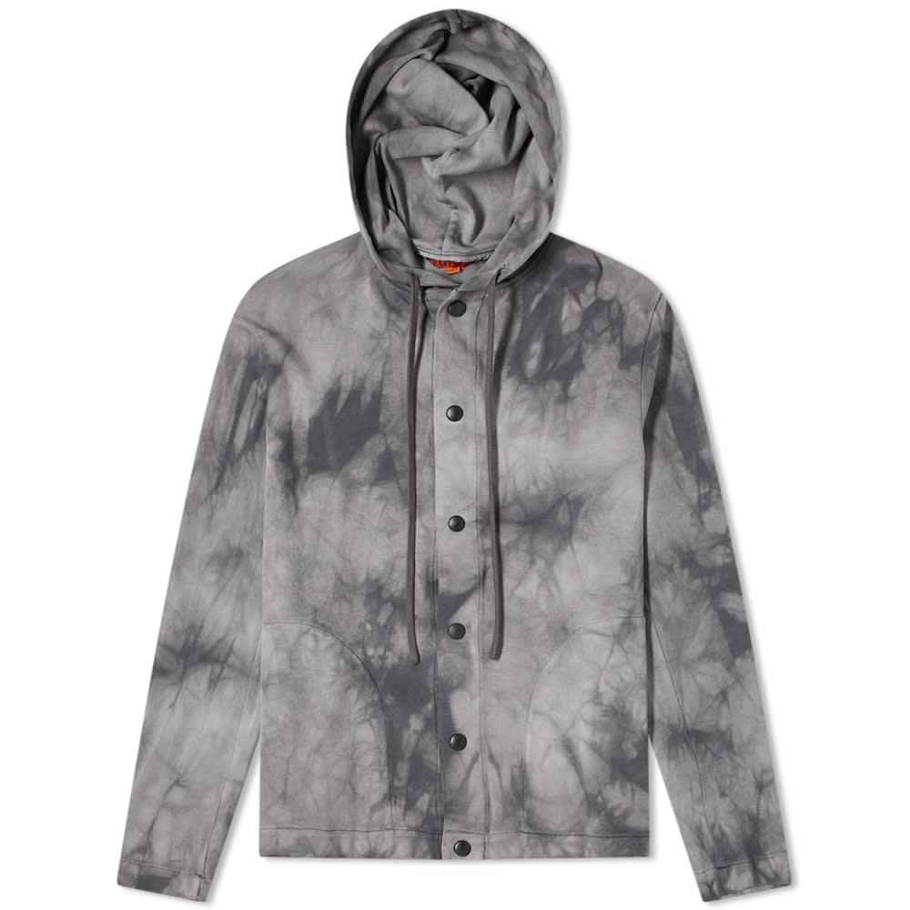 京都のセレクトショップdivacloset x インポートブランド バレナ セール特価 BARENA メンズ トップス バレナタイダイフード付きオーバーシャツ 男性 新品 小さいサイズから大きいサイズまで