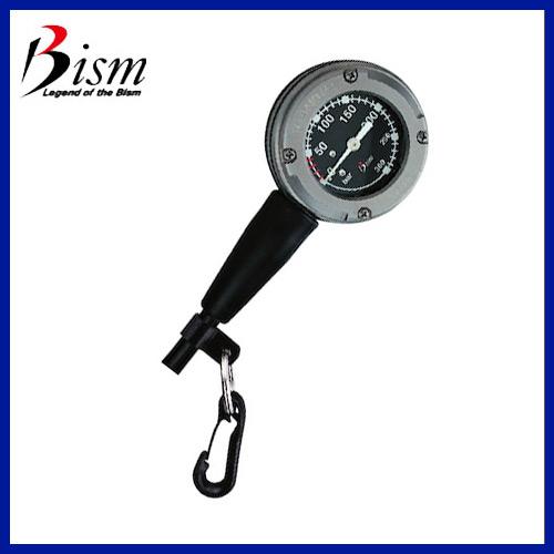 [Bism] ビーイズム ダイビングゲージ チタン残圧計 TITANIUM COMPACT GAUGE (チタニウムコンパクトゲージ)