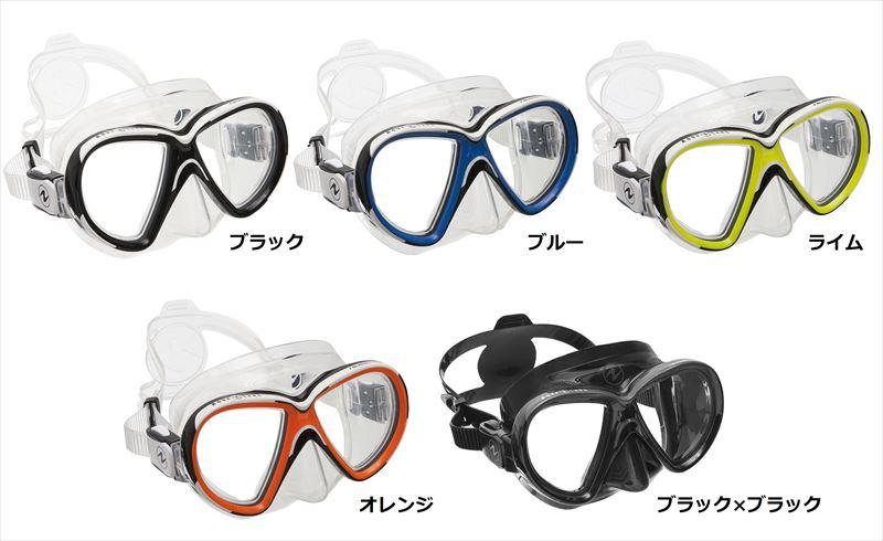 【メール便対応】日本アクアラング AQUA LUNG リヴィール X2マスク(2眼タイプ)