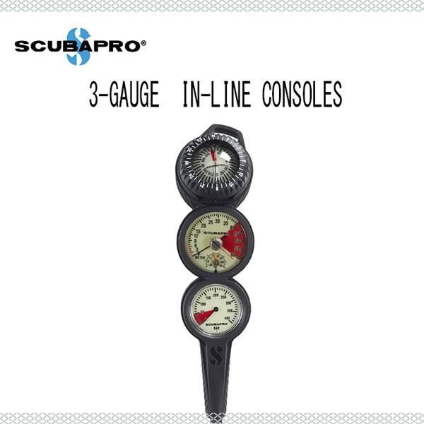 SCUBAPRO(スキューバプロ) ゲージ 3-GAUGE IN-LINE CONSOLES (3ゲージインラインコンソール) 05.023.353 05 023 353 メンズ レディース 男性 女性 男女兼用 ダイビング・メーカー在庫確認します