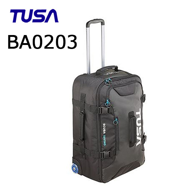 TUSA(ツサ)バッグ ダイビング ローラーバッグ ba0203 旅行 シュノーケリング ダイビング バッグ