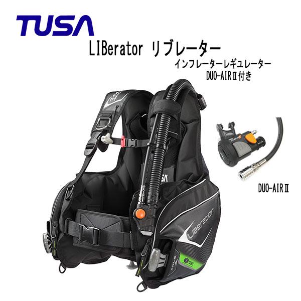 TUSA (ツサ) BC LIBerator リブレータ インフレーターレギュレーターDUO-AIRII付き BC0103F メンズ レディース 男性 女性 男女兼用 ダイビング・メーカー在庫確認します