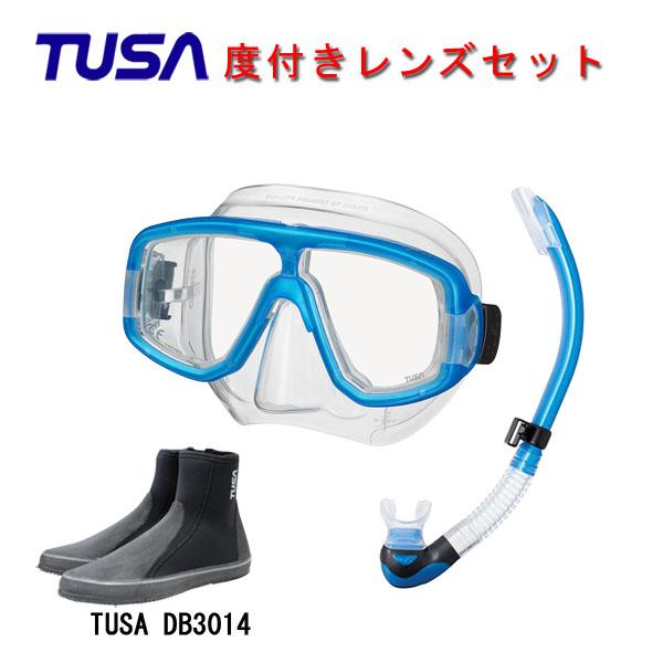 分裂感がなく見やすい二眼マスクと機能性に優れたスノーケルとブーツおススメのアイテムが揃う3点セットです 度付きレンズダイビング スノーケリング TUSA ツサ 度付きレンズ軽器材3点セットプラチナ マスク スノーケルTUSA 商品 シュノーケリング ロングブーツスキューバダイビング プラチナ2 お見舞い M-20US-TUSA スノーケル