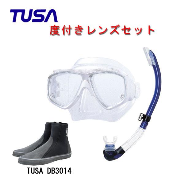 日本人向け構造のコンパクトマスクと快適な噛み心地のスノーケルとブーツ使いやすいアイテムばかりの3点セットです 人気ショップが最安値挑戦 度付きレンズマスクダイビング TUSA ツサ 度付きレンズ軽器材3点セットスプレンダイブ2 M-7500US-TUSA シュノーケリング スノーケルTUSA プラチナ2 ロングブーツスキューバダイビング 高級