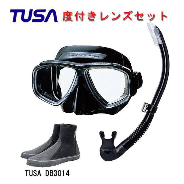 日本人向け構造のコンパクトマスクと快適な噛み心地のスノーケルとブーツ使いやすいアイテムばかりの3点セットです 度付きレンズマスクダイビング TUSA ツサ 度付きレンズ軽器材3点セットスプレンダイブ2ブラックシリコン ロングブーツスキューバダイビング シュノーケリング お気に入り 期間限定特別価格 プラチナ2 スノーケルTUSA M-7500QBUS-TUSA