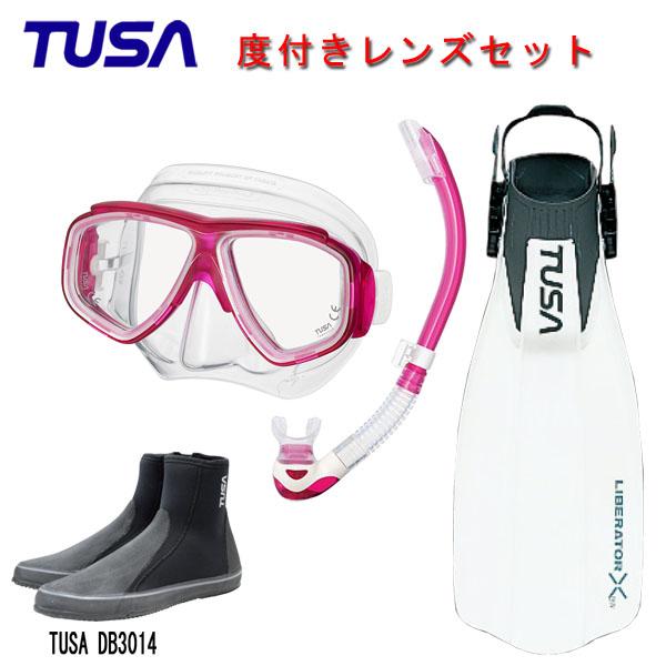 軽量コンパクトな人気のマスクや初心者の方にも使いやすいフィンが付いたおススメのアイテム4点セット 度付きレンズマスクダイビング TUSA ツサ 度付きレンズ軽器材4点セットスプレンダイブ2 M-7500US-TUSA スノーケルリブレーターテンロングブーツスキューバダイビング 評価 シュノーケリング 大注目 プラチナ2