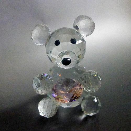 クリスタルテディベア クリスタルガラス XL 大きなクマさん サンキャッチャーベア