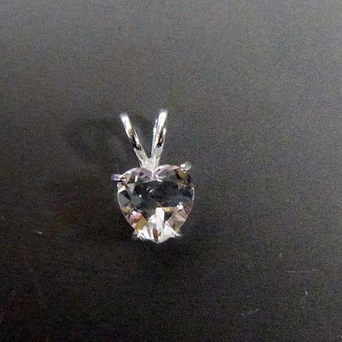 好きに AAAハーキマーダイヤモンドハートジェムストーンスターリングシルバーペンダントヘッド 北米NY州ハーキマー鉱山産, 世界的に:d9ffbdd2 --- hortafacil.dominiotemporario.com