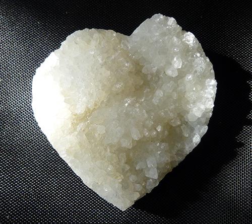 アゾゼオ アナンダライト 至福のクリスタル ドゥルージー原石 パームハートK.Angel's