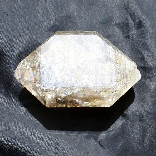ハーキマーダイヤモンドダブルターミネーター原石クォーツクリスタル