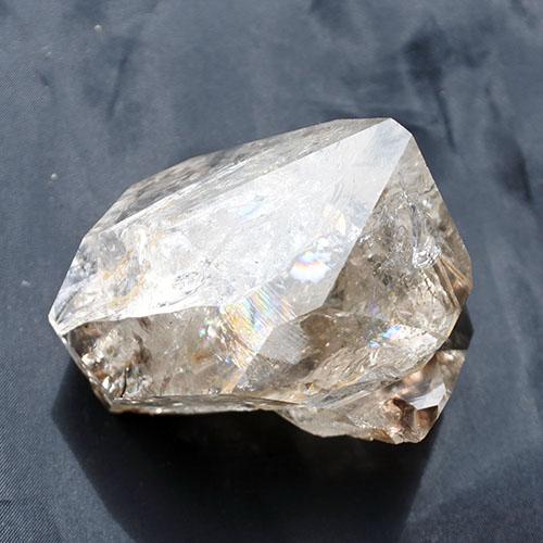 寄り添う光 ハーキマーダイヤモンドツイン水晶原石クォーツクリスタル