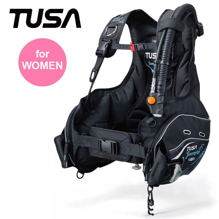 BC TUSA/ツサ ジャスミン BC0401B 女性向け ダイビング 重器材