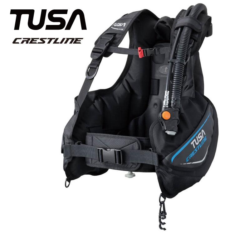 ダイビング BC TUSA/ツサ BC0601B クレストライン ダイビング用 BCJ[20104033]