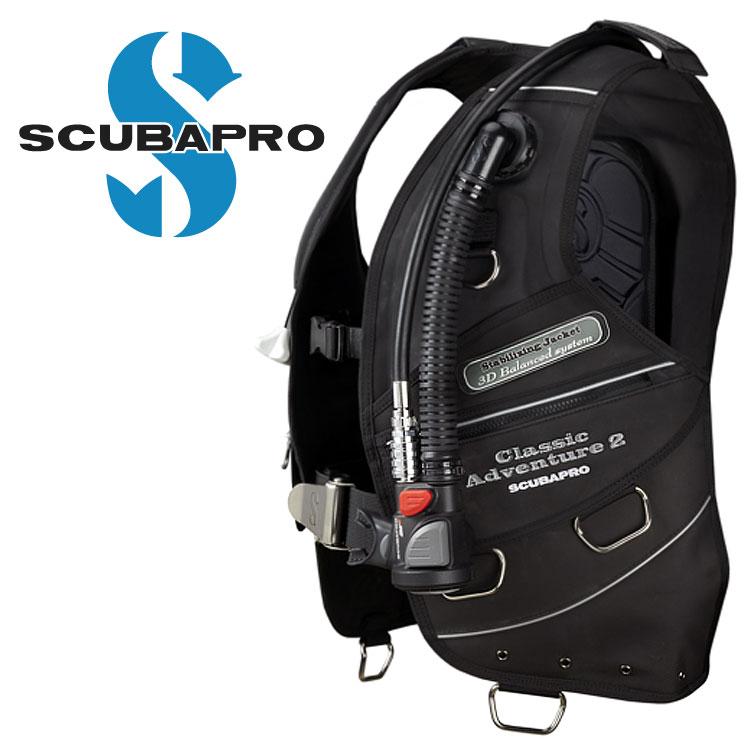 ダイビング BCD 重器材 SCUBAPRO スキューバプロ Sプロ Classic Adventure2 BPI