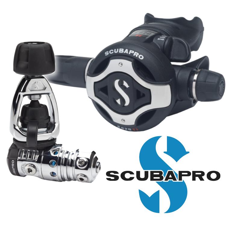 ダイビング レギュレーター 重器材 SCUBAPRO スキューバプロ Sプロ MK25EVO/S62 Ti