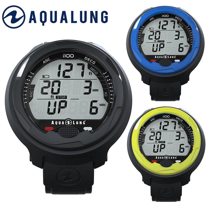 ダイブコンピューター AQUALUNG アクアラング i100 ダイブコンピュータ