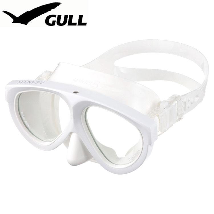 ダイビングマスク GULL/ガル マンティス5ホワイトシリコン GM-1036