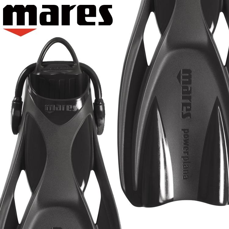 ダイビング フィン mares マレス パワープラナ軽器材 ストラップ オープンヒール