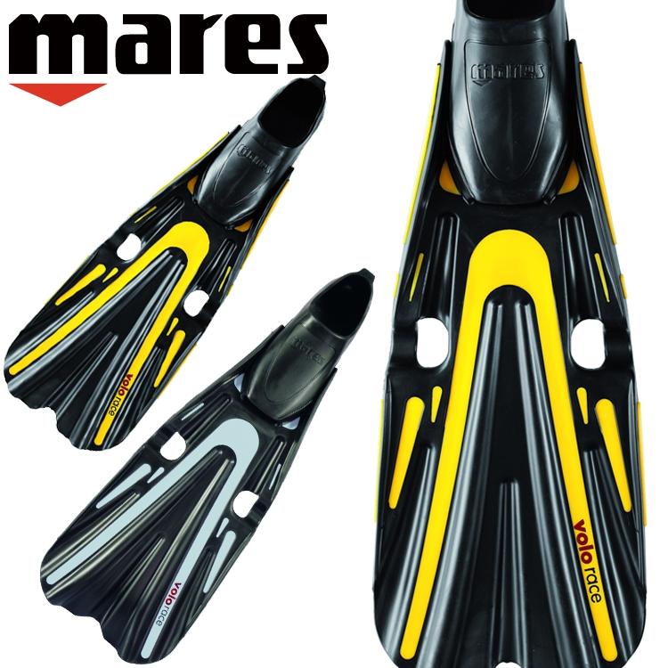 ダイビング フィン mares マレス ヴォロレース 軽器材 フルフット