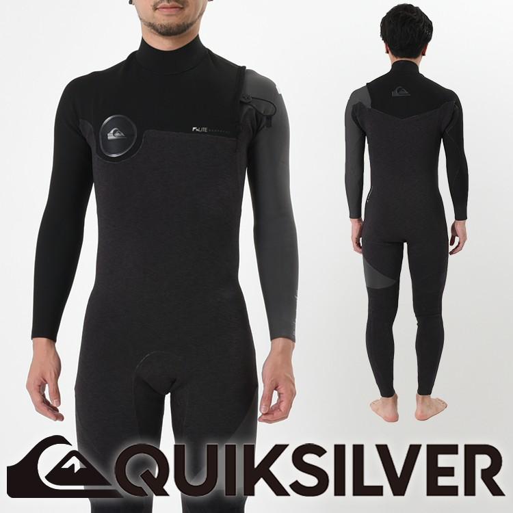 QUIKSILVER クイックシルバー ウェットスーツ 3mm × 2mm ウエットスーツ メンズ フルスーツ 3/2 HIGHLINE SERIES ZIPLESS FULLSUIT QWT181901