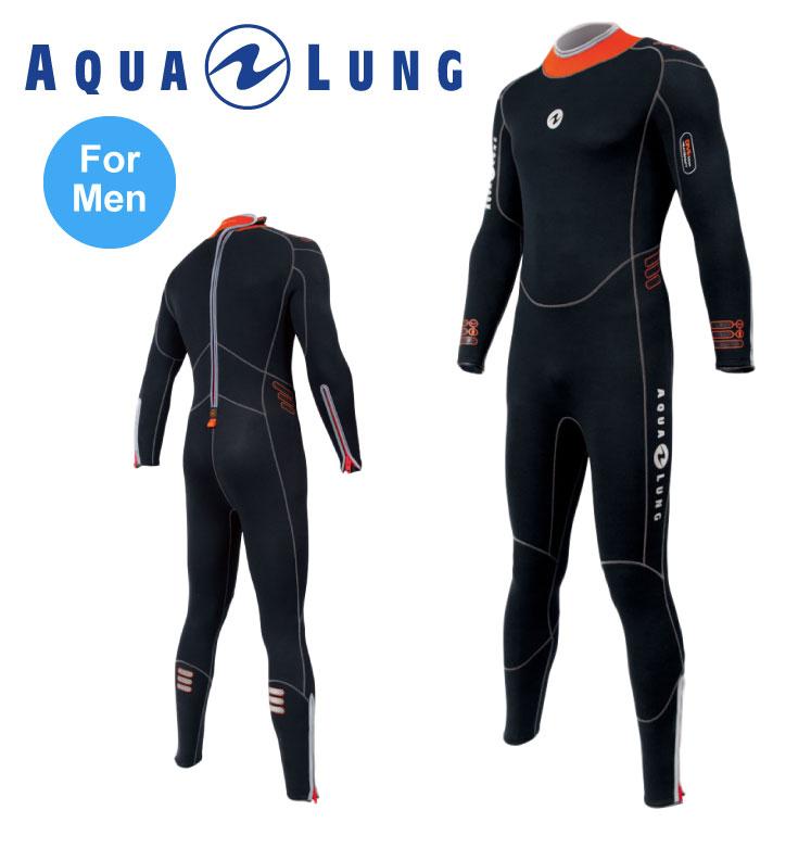 AQUALUNG アクアラング 5.5mmプレザント・ウェットスーツ メンズ