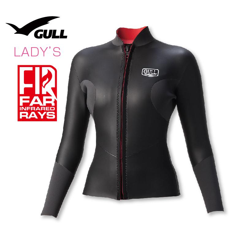タッパー GULL/ガル クラシック SKIN タッパー2 ウィメンズ 3mmネオプレーン ダイビング スキンダイビング 女性用