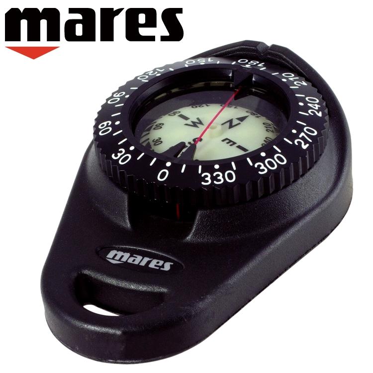ダイビング コンパス mares マレス ハンディコンパス 重器材 ゲージ