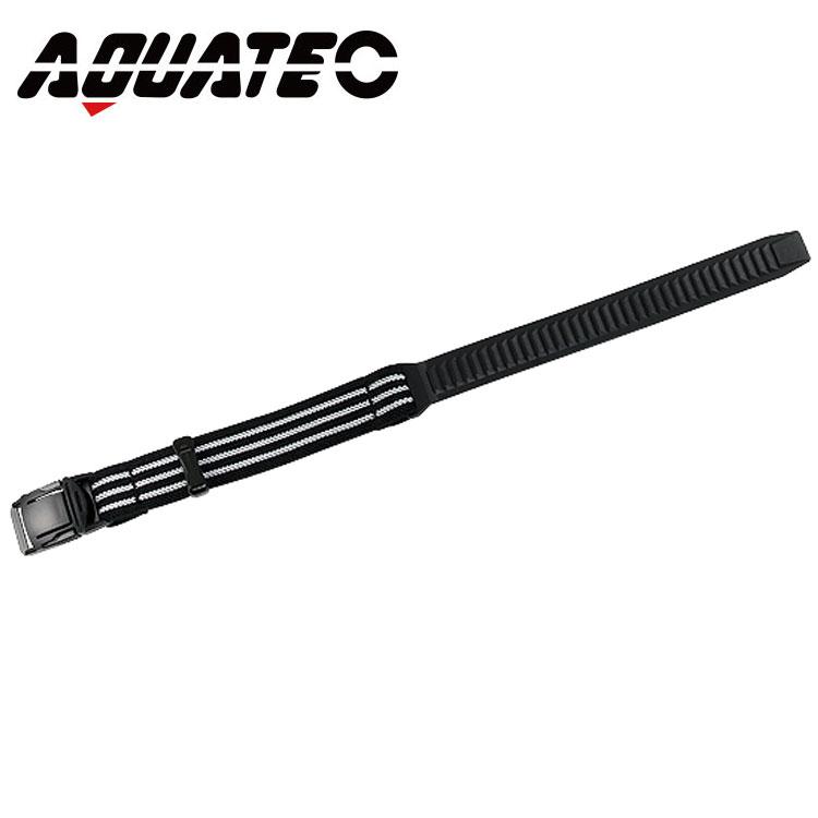 専門店 ダイビングナイフ用のショートナイフベルト 国際ブランド AQUATEC アクアテック ナイフストラップ 390mm KN-200-2 ショート