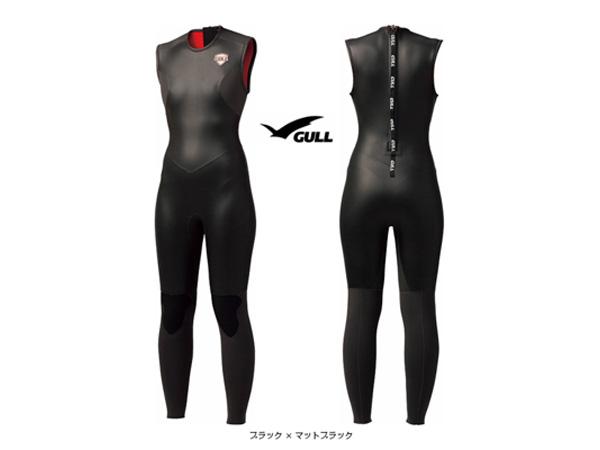 GULL 3mm SKIN ロングジョン III ウィメンズ(スキンロングジョン)【GW-6622】