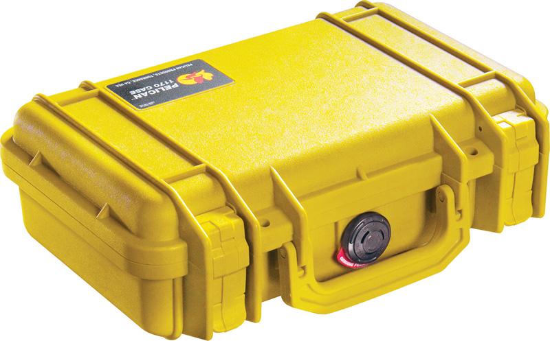PELICAN(ペリカン) プロテクターケース 1170 フォーム付 黄 [イエロー] 携帯電話 PCケース デジカメケース 保護ケース スキューバダイビング ハードケース