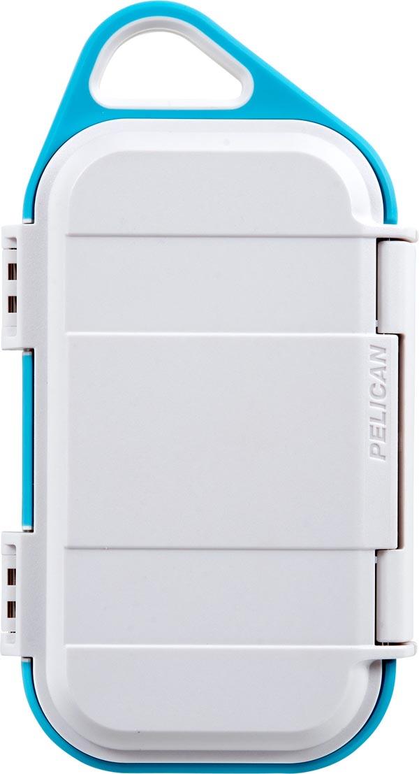 PELICAN(ペリカン)G40 Personal Utility GO CASE ゴーケース WHITHE/AQUA [ホワイト/アクア] iPhone Xs Max対応 携帯ケース 小物入れ 保護ケース 防水 耐衝撃 防塵 ハードケース