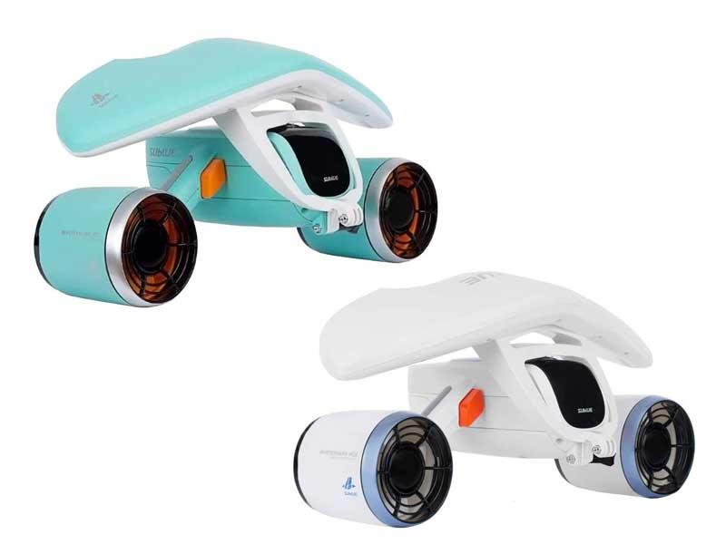 春の新作 SUBLUE WhiteShark 爆売り Mix 水中スクーター デュアルモーター 電動スクーター 水下40M防水 ダイビング用 ウォータースポーツ